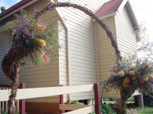 country rustic arch 3
