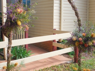 country rustic arch 4
