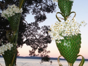beach wedding arch 2